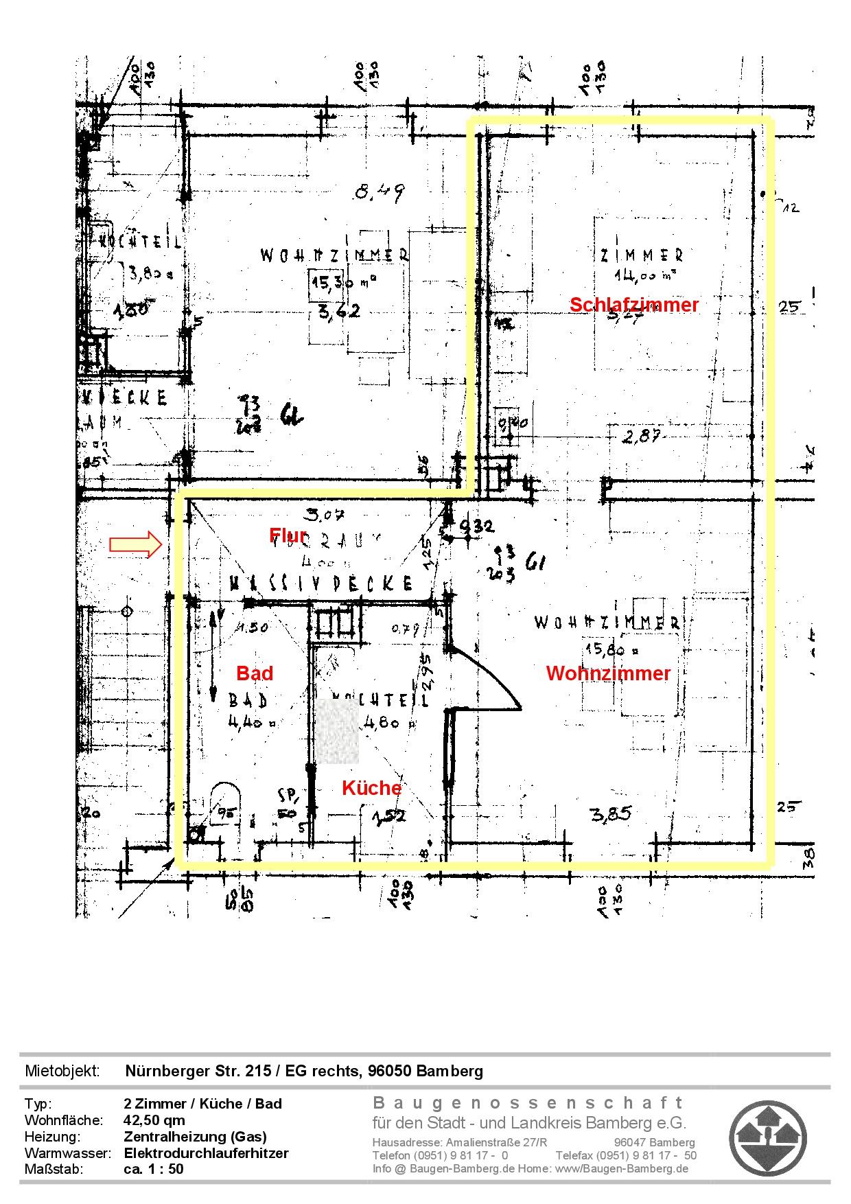 Mietangebote Baugenossenschaft Für Den Stadt Und Landkreis Bamberg Eg